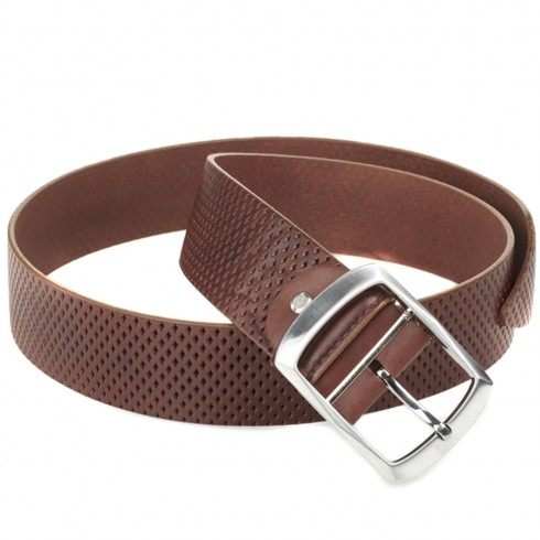 Burberry Brit Brown Leather Belt