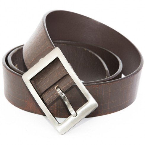 Someother Striped Leather Belt