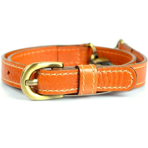 Someother Tan Leather Belt