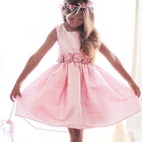 Theory Flower Girl's Dress